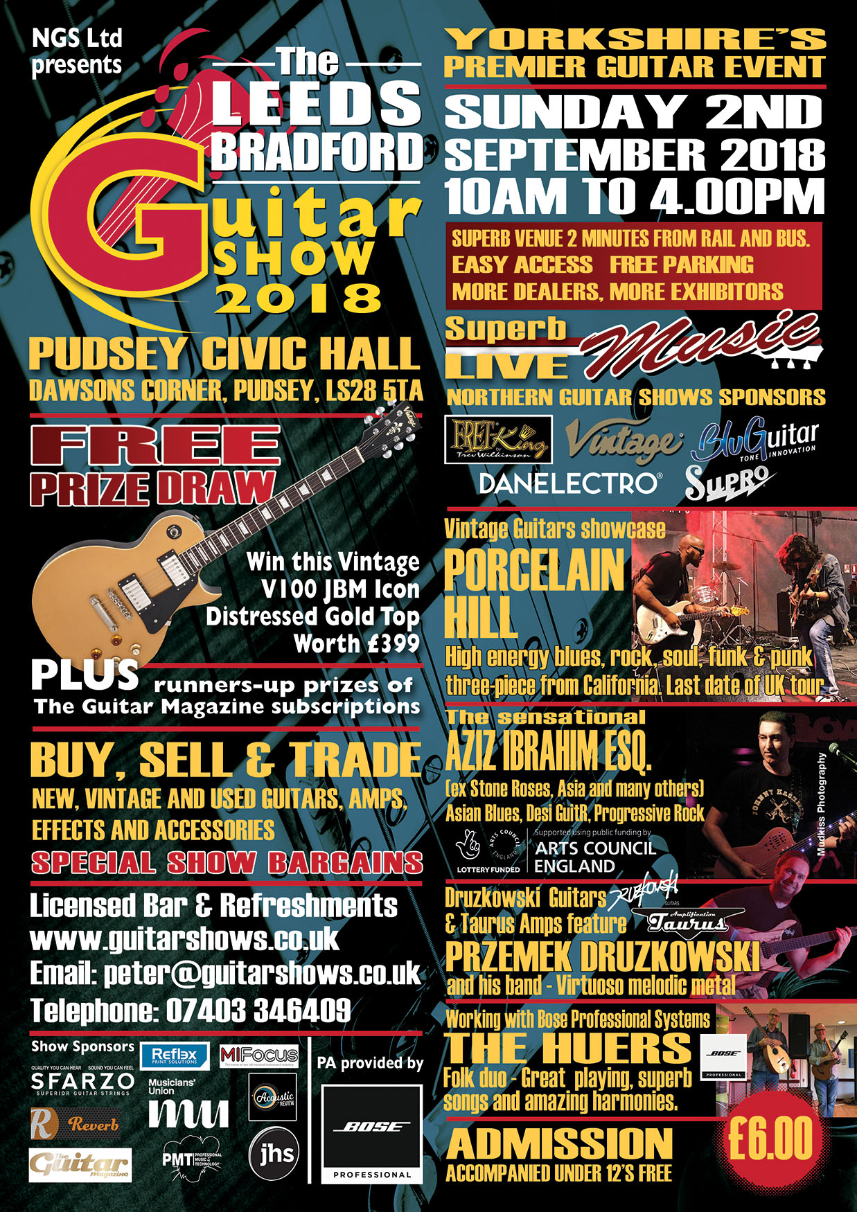 The Leeds/Bradford Guitar Show 2018