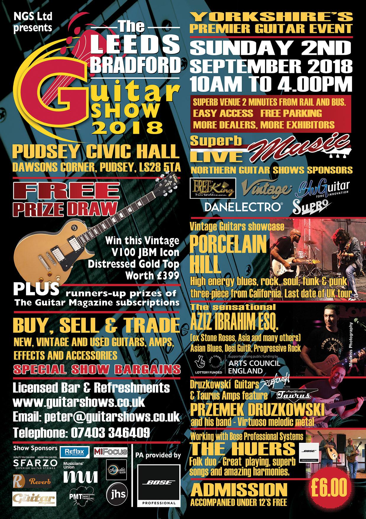 The Leeds/Bradford Guitar Show 2018