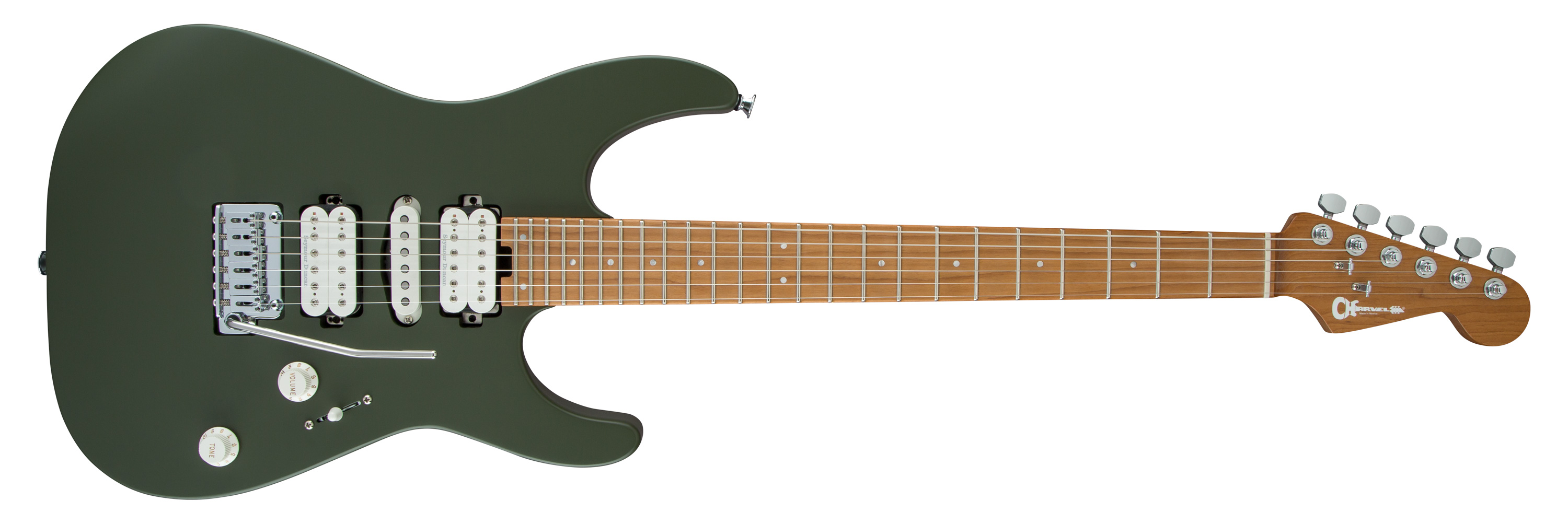 Charvel Pro-Mod DK24 HSH in Matte Army Drab