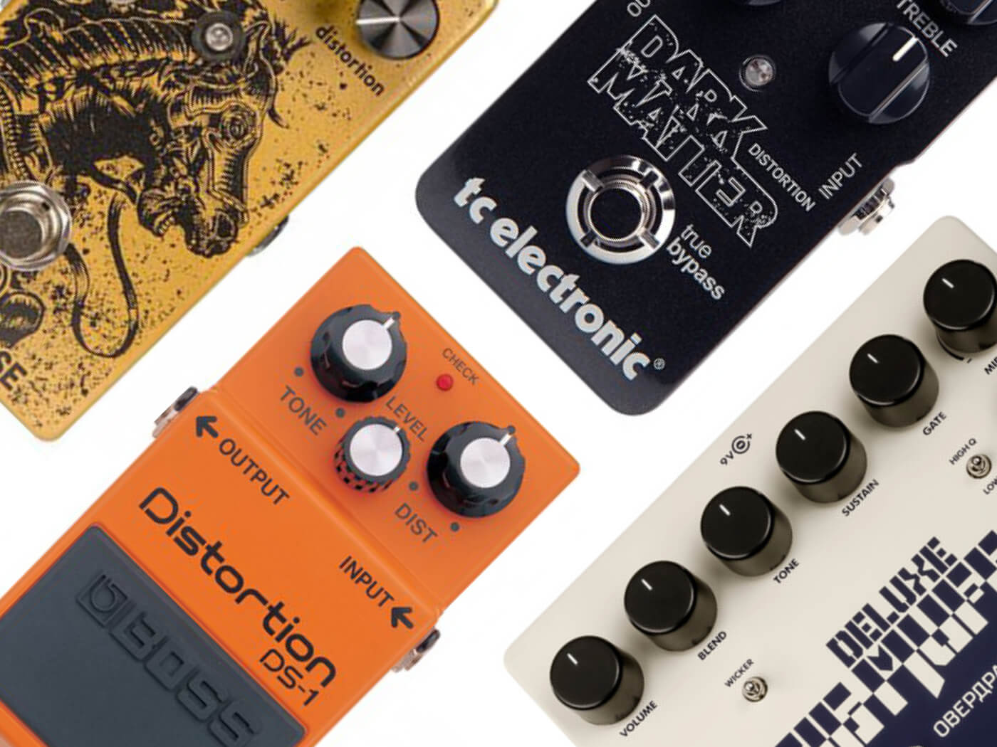 10 best distortion pedals for guitarists - Guitar com | All