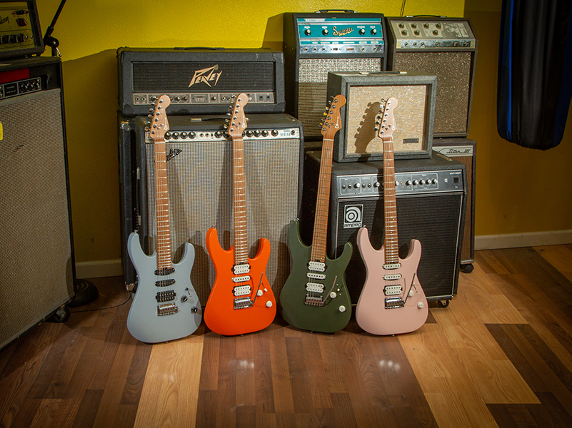 Charvel deploys new metal-ready line-up