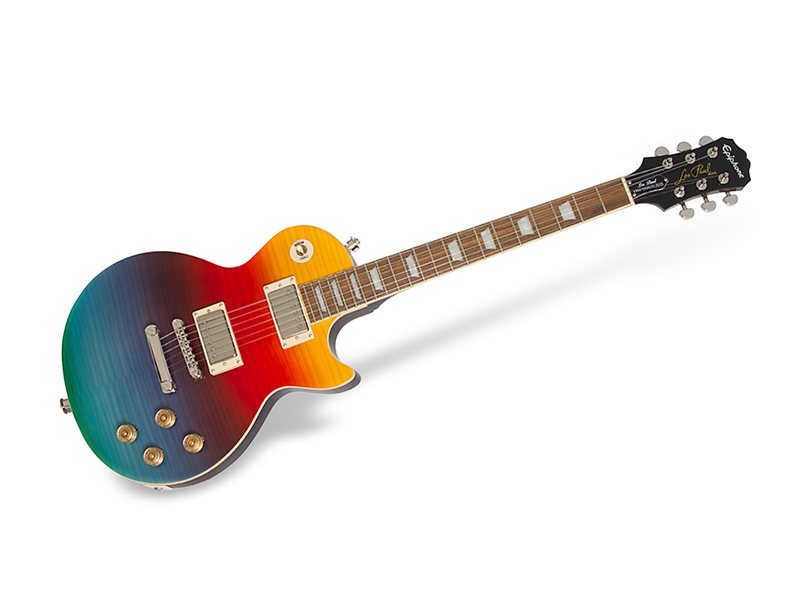 Check out Epiphone's new line-up of guitars