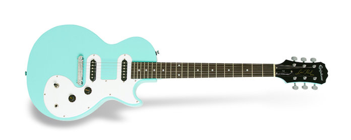 Epiphone Les Paul SL, una de las mejores guitarras económicas, low cost para principiantes.