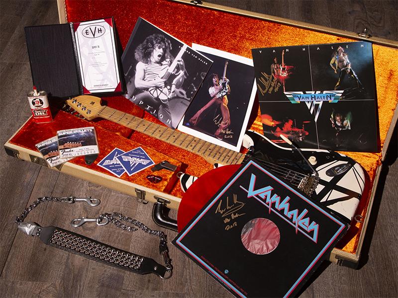EVH Eddie Van Halen Super 78 Model Eruption