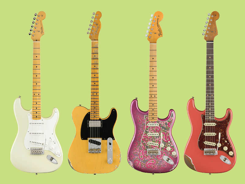 Feast your eyes on the new Fender Custom Shop guitars