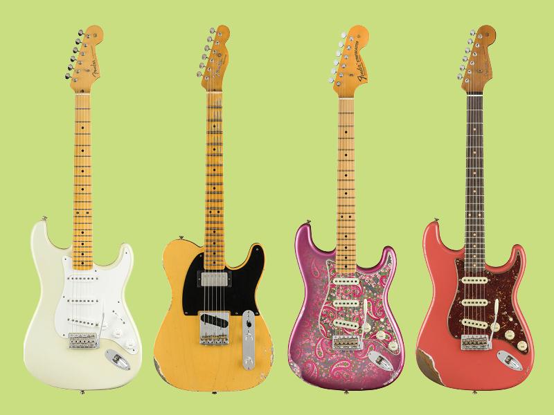 Feast your eyes on the new Fender Custom Shop guitars
