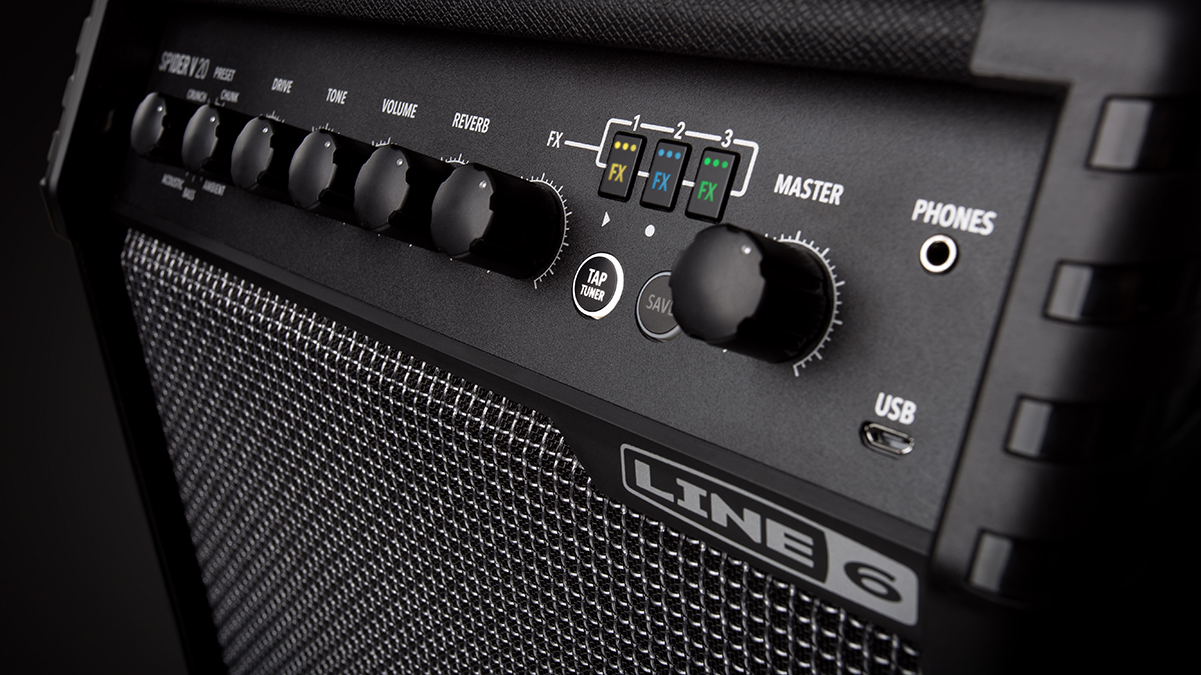 Line 6's new Spider V 20 amp is perfect for practice