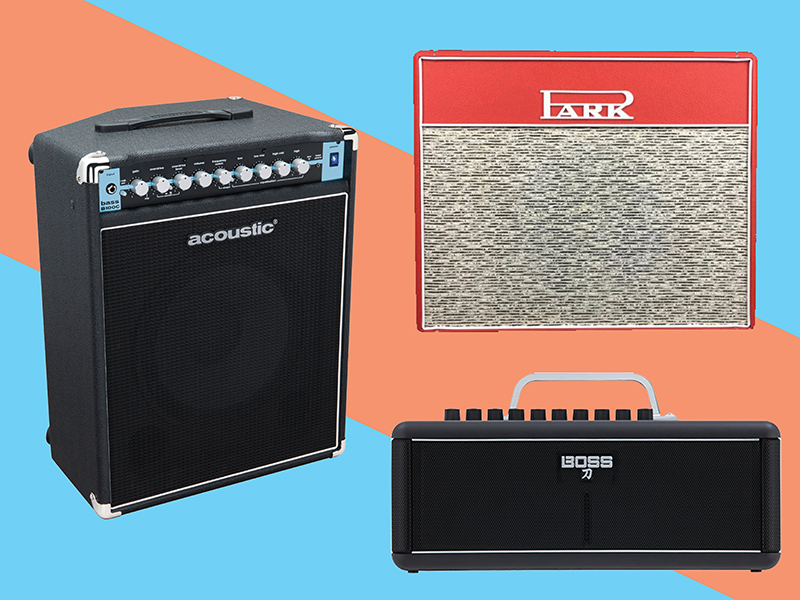 Four new electric guitar amplifiers: August 2018