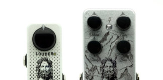Mythos Pedals Cestus (left) and Herculean V2 (right)
