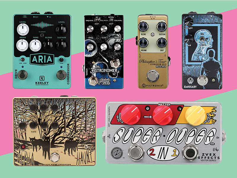 13 new pedals and effects units: July 2018