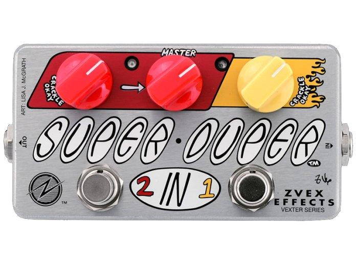 ZVEX Super Duper 2-in-1 Concert Bass Mod