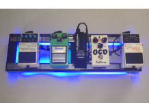 earthboard magnetic pedalboard