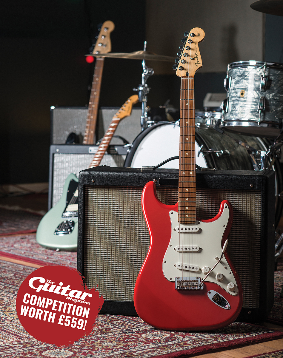 Win! A Fender Player Stratocaster!