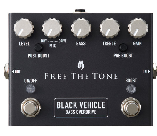 Free the tone bass overdrive black truck