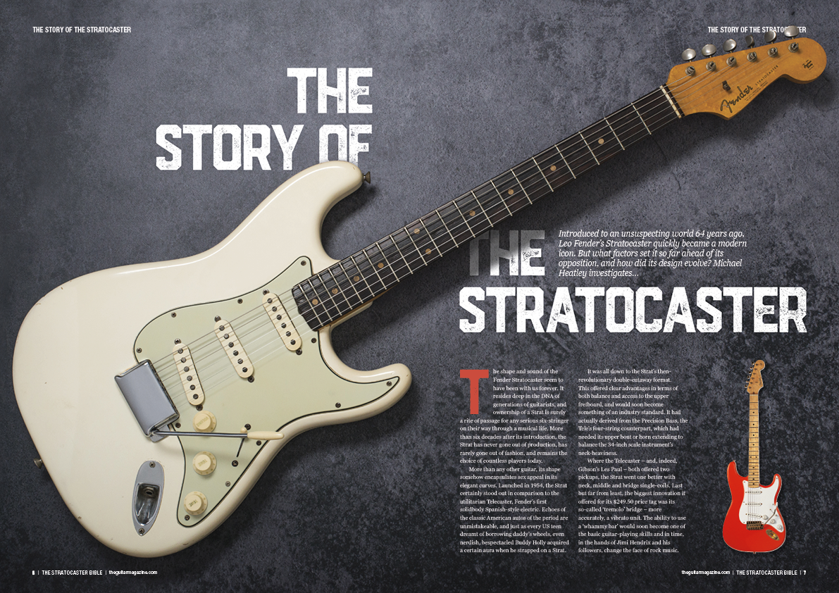 The Stratocaster Bible is on sale now!