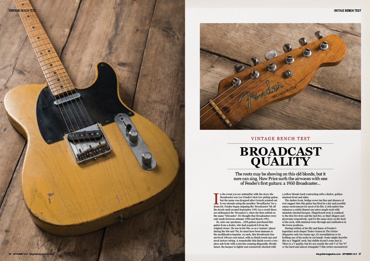 The September 2018 issue of The Guitar Magazine is out now!