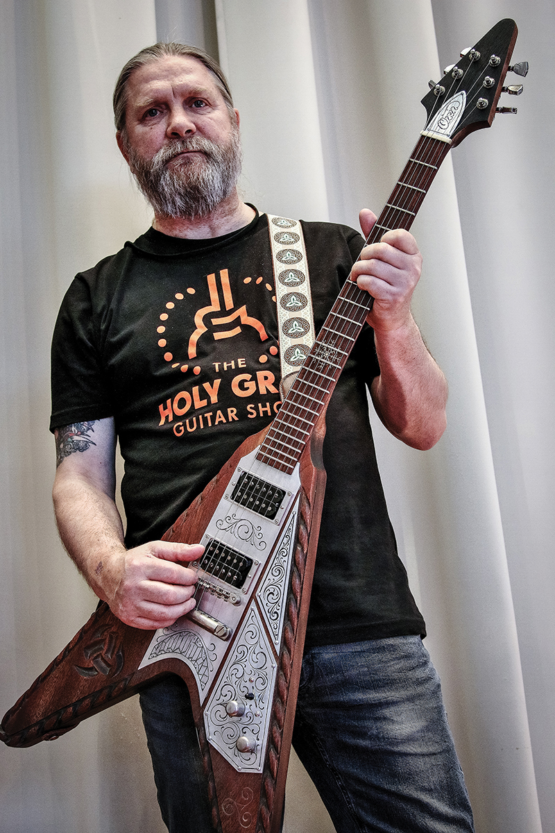 Interview: Orn Custom Guitars - The Ice Man Cometh