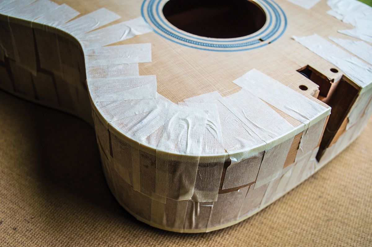DIY Workshop: Martin Guitar Kit Build Part Five