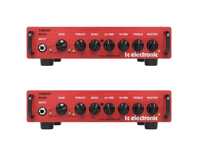 tc electronic BQ250 BQ500 bass amp