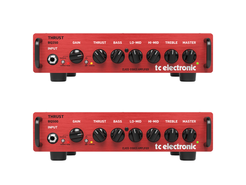 TC Electronic releases two new bass amp heads