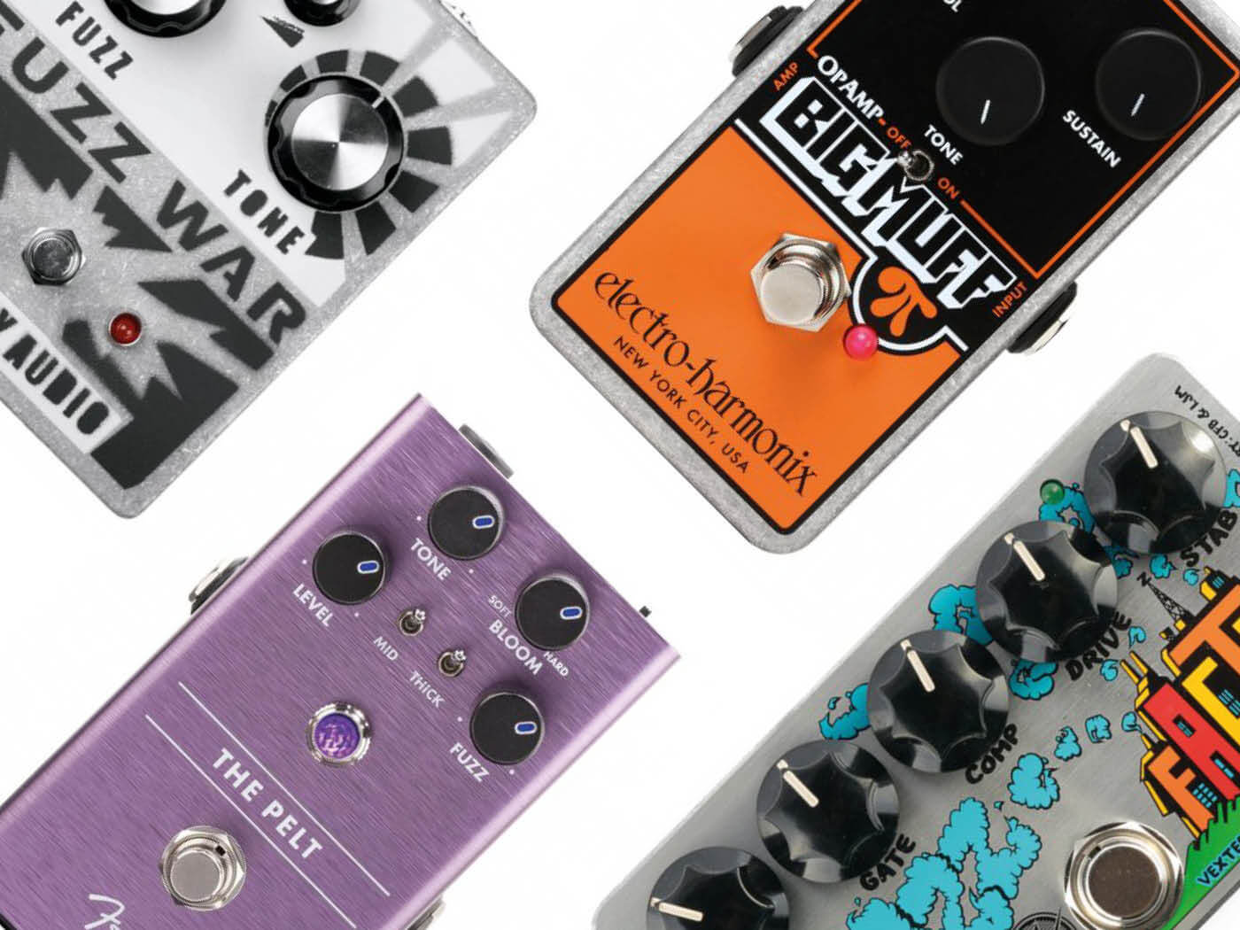 eight best fuzz pedals for guitarists in 2019 all things guitar. Black Bedroom Furniture Sets. Home Design Ideas