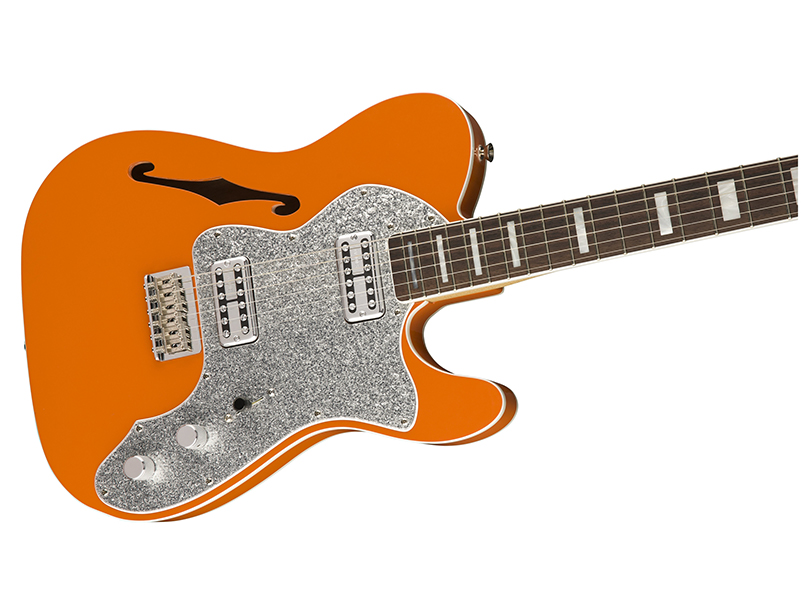 Fender launches Gretsch-inspired Thinline Telecaster