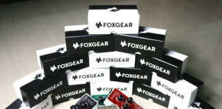 Foxgear Professional Compact Series pedals