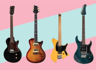 Gibson Billie Joe Armstrong Strandberg Salen Yamaha Pacifica PRS SE Bernie Marsden