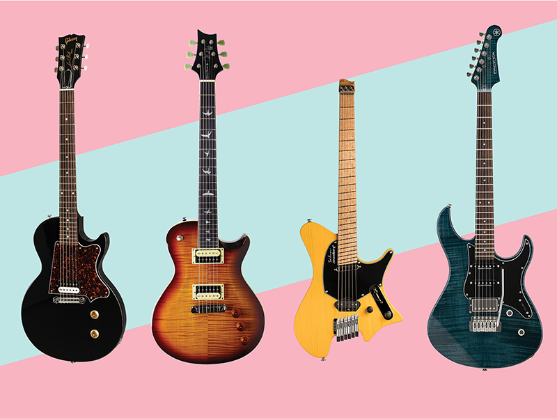 Nine new electric and acoustic guitars: August 2018