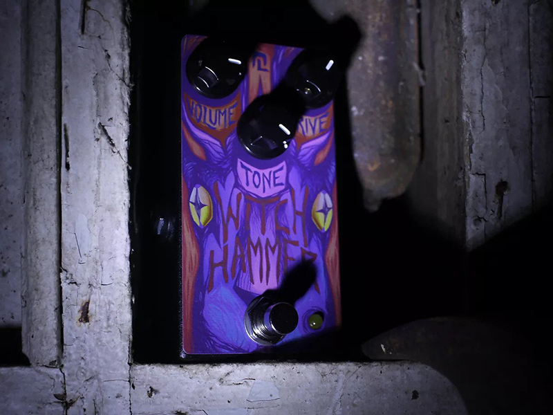 Haunted Labs releases Witch Hammer overdrive