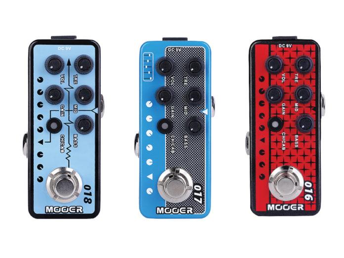 Mooer Audio 018 Custom 100, 017 Cali MK IV, 016 Phoenix