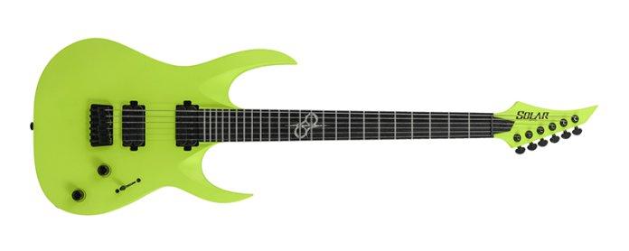 Solar Guitars A2.6 Lemon Neon