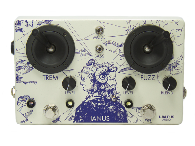 Walrus Audio Janus best fuzz pedals