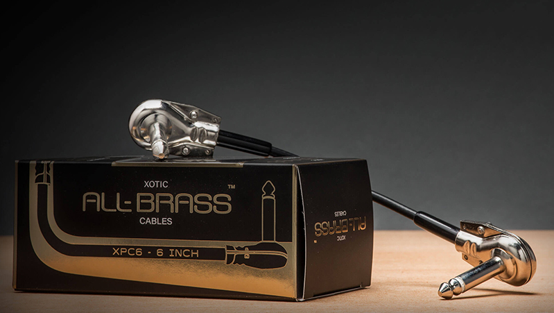 Xotic launches All-Brass patch cables