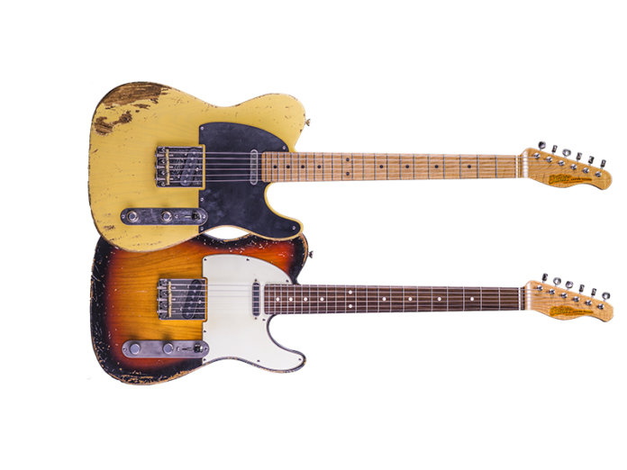 XTC guitars california series