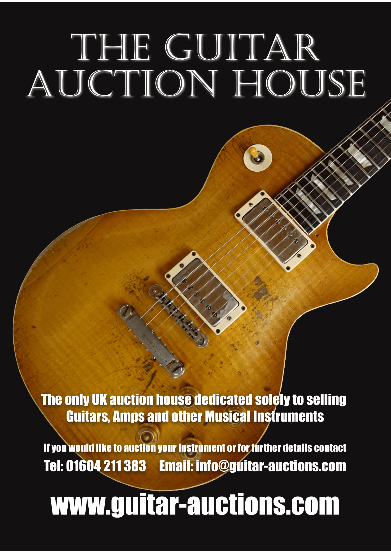 The Guitar Auction House launches at Northampton Guitar Show 2018
