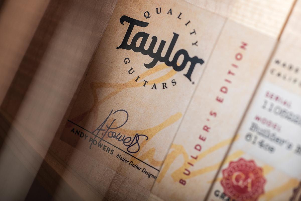 Taylor 614ce & 614ce Builder's Edition