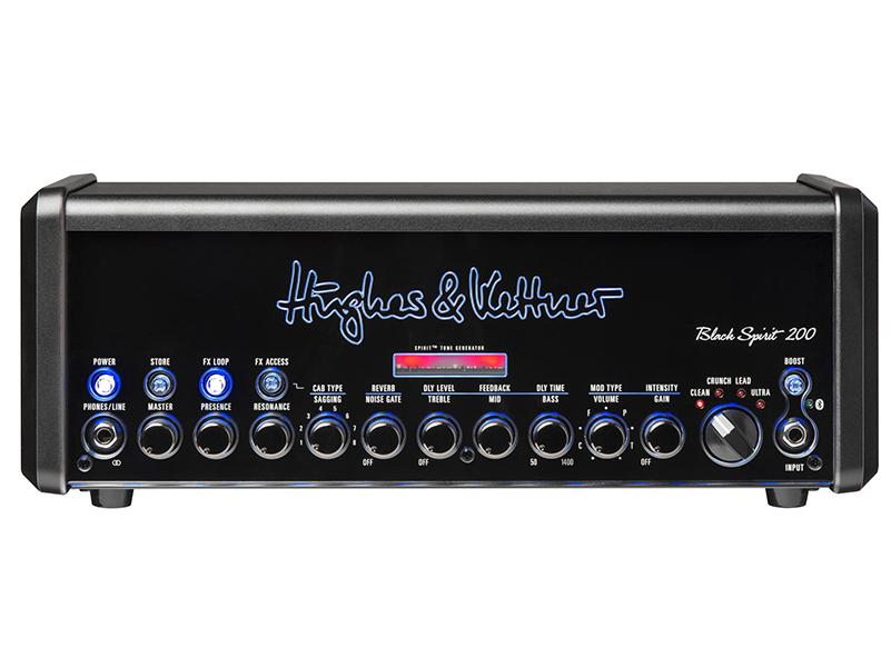 Hughes & Kettner invokes the Black Spirit 200