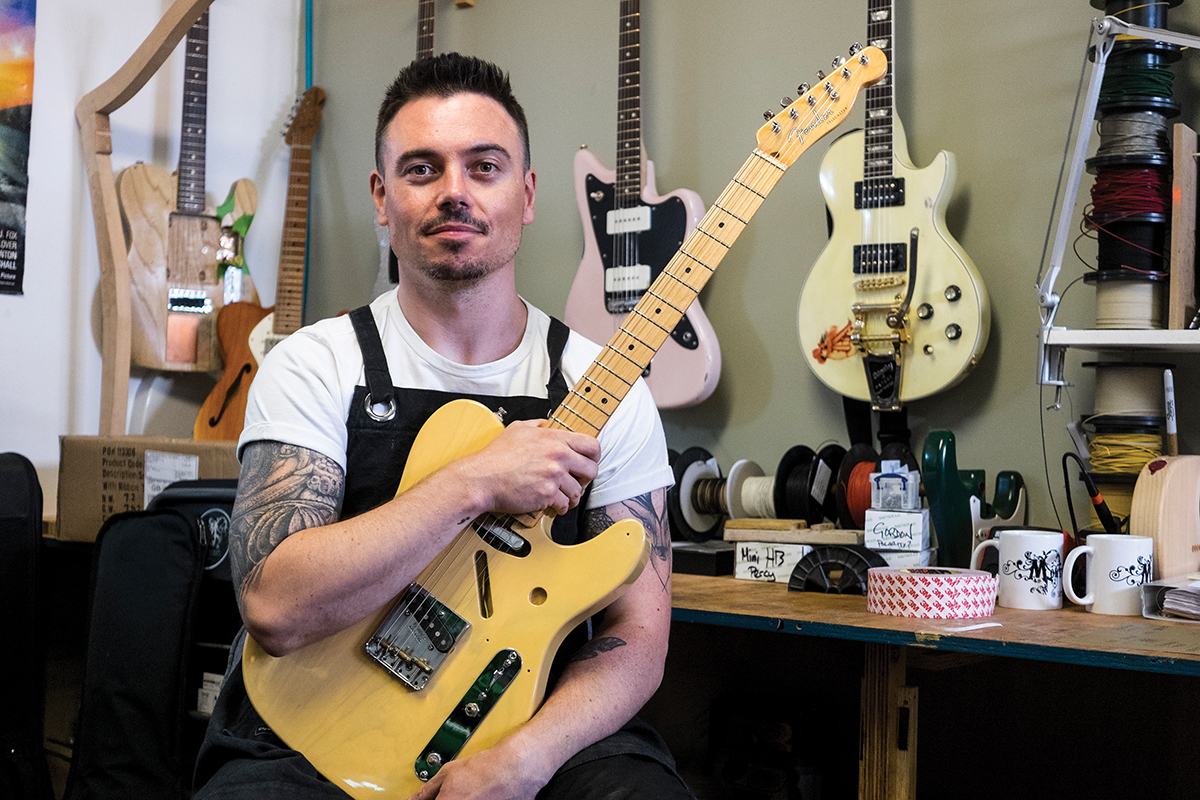 Talking Shop: Monty's Guitars - The Full Monty