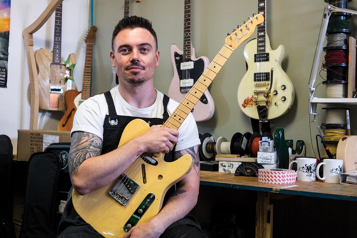 Talking Shop: Monty's Guitars - The Full Monty