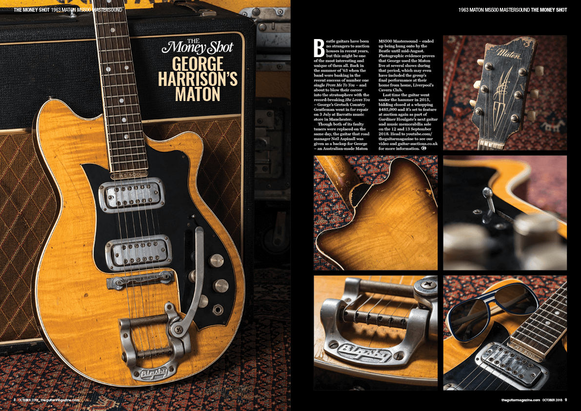 The October issue of The Guitar Magazine is on sale now!