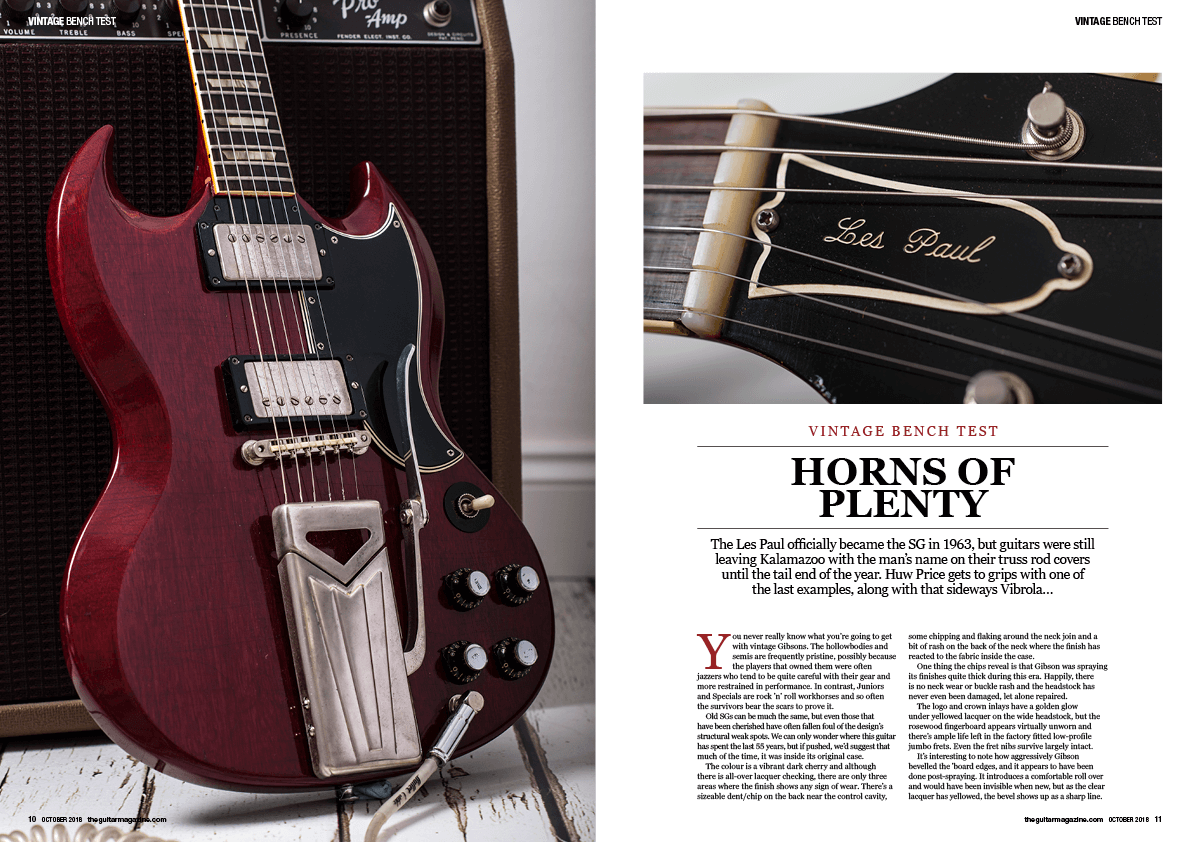 The October issue of The Guitar Magazine is on sale now! - Guitar