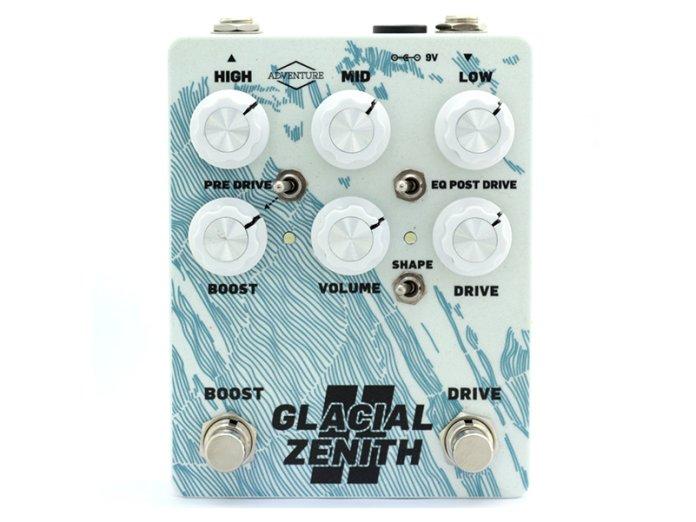 Adventure audio Glacial Zenith V2 White