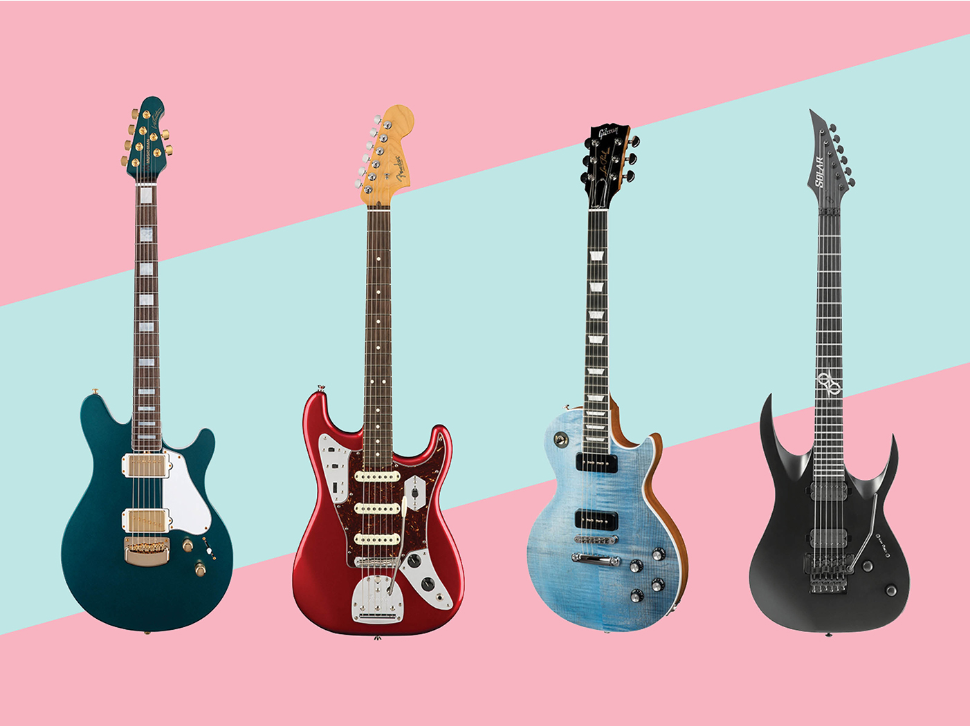 11 new electric and acoustic guitars november 2018. Black Bedroom Furniture Sets. Home Design Ideas