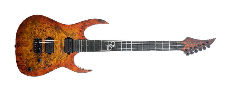 S1.6 LTD in Solar Burst Matte Solar Guitars