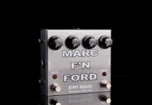 bmf effects marc f'n ford pedal od/boost
