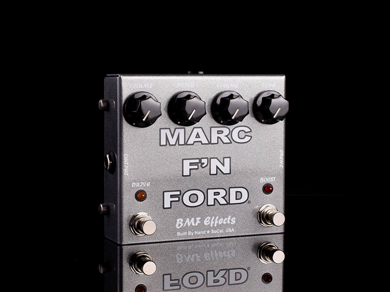 BMF Effects introduces the Marc F'N Ford Overdrive/Boost