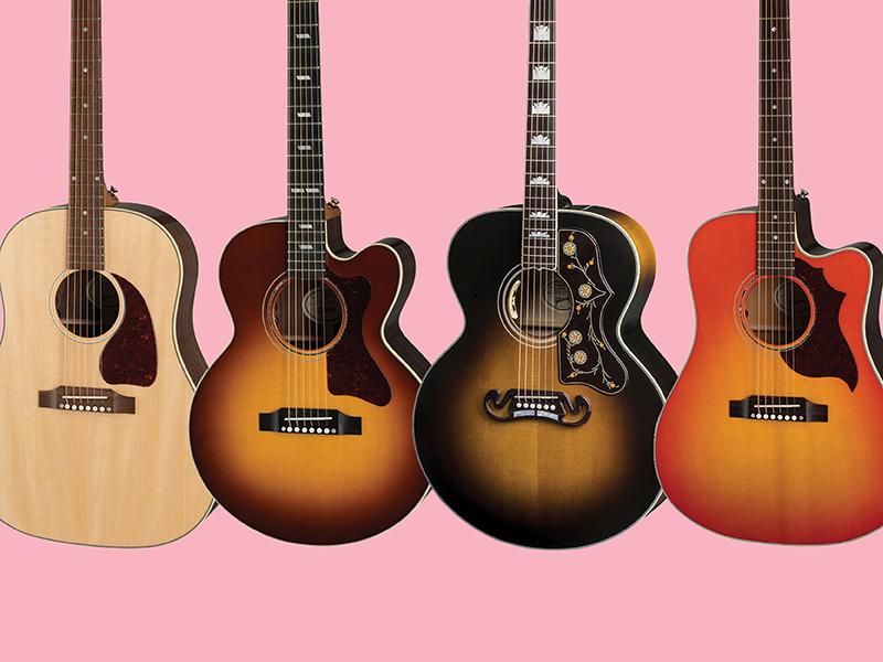 Meet Gibson's 2019 range of acoustic guitars