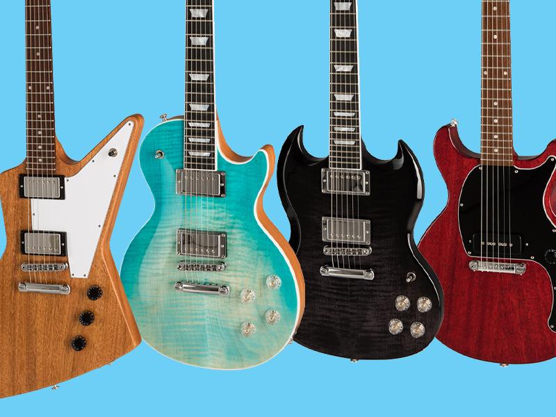 All about Gibson's 2019 solid-body electric guitars