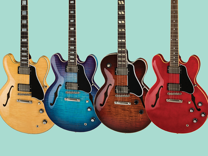 Introducing Gibson's 2019 hollow-body guitars - Guitar com